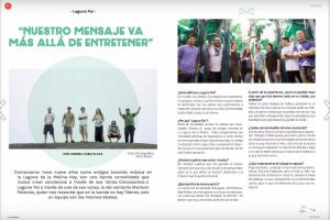 """Entrevista a Laguna Pai: """"Nuestro mensaje va más allá de entretener"""""""