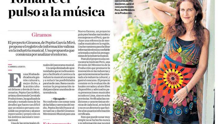 Giramos: un proyecto que le toma el pulso a la música