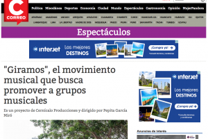 """""""Giramos"""", el movimiento musical que busca promover a grupos musicales"""