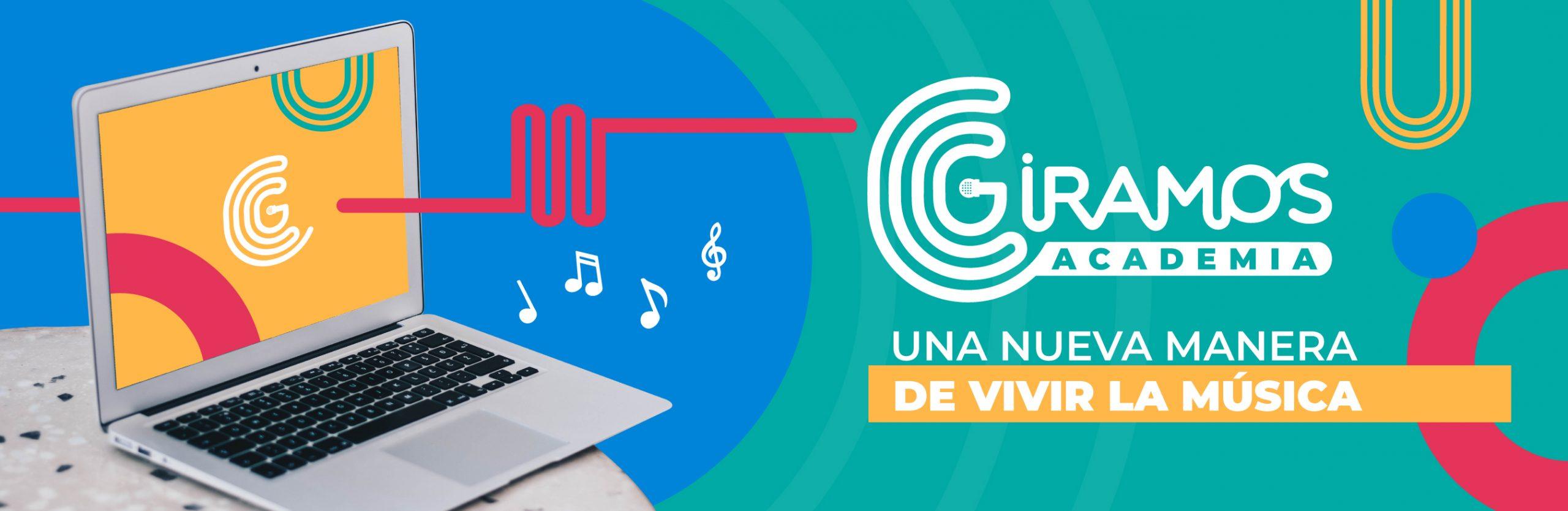 GIRAMOS ACADEMIA: Primera plataforma educativa especializada en música